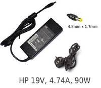 Блок питания (зарядное, адаптер) HP Compaq 19V 4.74A 380467-005 PA-1650-02C PPP009H разъем 4.8x1.7mm