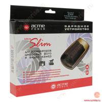 Зарядное устройство для фотоаппаратов Canon, Panasonic (подходит для Canon BP-915 BP-930 BP-945, Panasonic VBD070 VBD140 VBD210) Acme Power AP CH-CP01