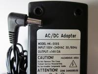 Блок питания (адаптер, зарядное) для телевизора Akai hk-008s 12V 4A разъем 5.5x2.5mm