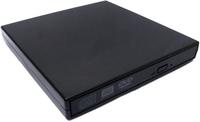 Внешний оптический CD DVD-RW привод для ноутбука 3Q Lite Black (3QODD-T105-EB08)
