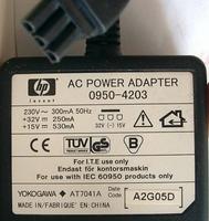 Блок питания принтера HP 32V-14.5V 800mA (0950-4203)
